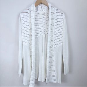 Anthropologie Angel of the North Open Cardigan Sm